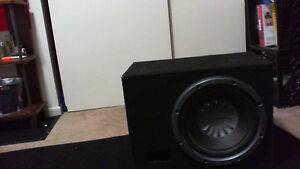Pioneer 12' subwoofer and box