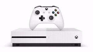 2TB Xbox One S w/ Play and Charge Kit and Vertical Stand