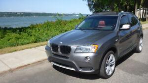 2013 BMW X3 X-Drive 28i NAVI/GPS GARANTI JUSQU'EN 2020 !