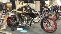 2014 custom chopper pro-street motorcycle s&s big dog harley