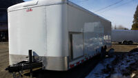 New 8.5x26 Enclosed Office Trailer with 8K Generator