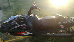 I have a Polaris RMK 800 for trade for a vehicle