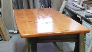 Live Edge Counter Height Table