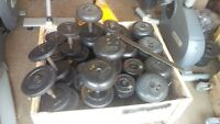 Troy Commercial Dumbbells 5-45lbs (with Half Sizes) USED