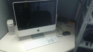 "Mid 2007 iMac 2 GHz Intel Core Duo w. 20"" Display"