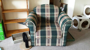 Chair & matching loveseat