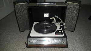 Vintage RCA Victor suitcase record player.