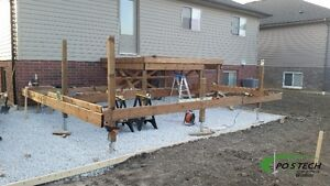 Postech Screw Pile Footings For Decks, Additions, Sunrooms! Windsor Region Ontario image 10
