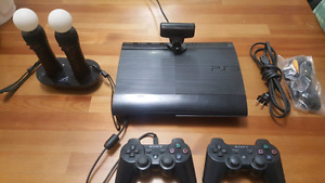 Ps3 slim 12gb + playstation move