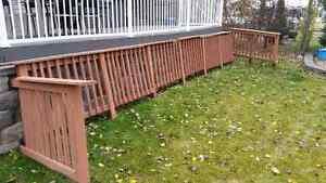 ■Deck Railing For Sale!! ■$220 obo