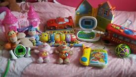 Large selection of kids toys