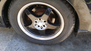 Universal rims and tires 18inch