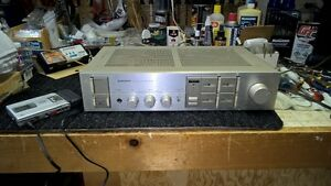 PIONEER A-30 STEREO AMP WITH ADVENT SPEAKERS