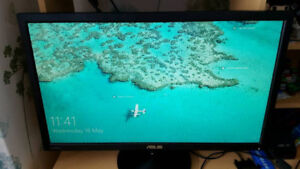 """Asus 24"""" HD monitor - excellent Condition"""