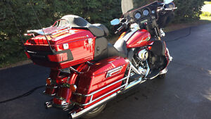 HD Ultra Classic Electra Glide with trailer