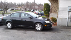 2007 Volkswagen Jetta 2.5 Sedan Black