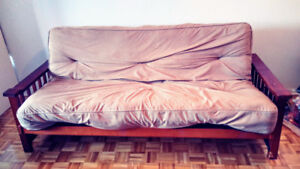 Futon couch double