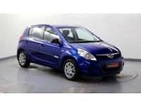2010 Hyundai i20 1.2 Classic Petrol blue Manual