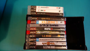 12 ps3 games need gone asap!! $20 for all