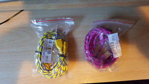 iPhone 5 and 6 Braided Colored Data Cords (3 meters) St. John's Newfoundland image 3