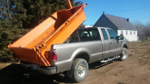 2003 Ford F-250 Pickup Truck with dump box $5500