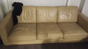 Genuine leather couch and chair!!!
