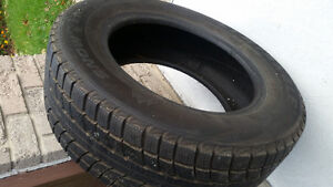 2 sets of winter tires Kitchener / Waterloo Kitchener Area image 1