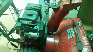 "Snowblower /Craftsman 10hp/27""dualstage"