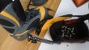 RIDE SNOWBOARD, BOOTS 5150 size 8.5, RIDE bindings, West Island Greater Montréal image 3