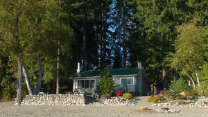 Waterfront cabin at Magna Bay