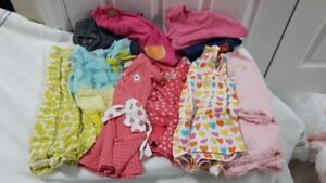 Size 12 months ~ EUC to VGUC Girl's Spring & Summer Clothes!