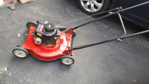 Briggs and Stratton lawnmower for sale.
