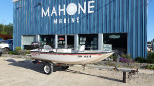 1997 Boston Whaler 13' w/ 1998 Johnson 25HP Motor