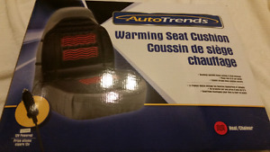 AUTOTRENDS warming seat cushion