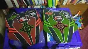 Nerf Dart chest shields