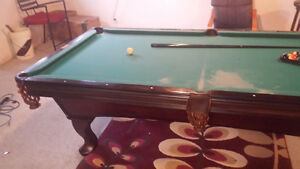 Olhausen Pool/Snooker Table