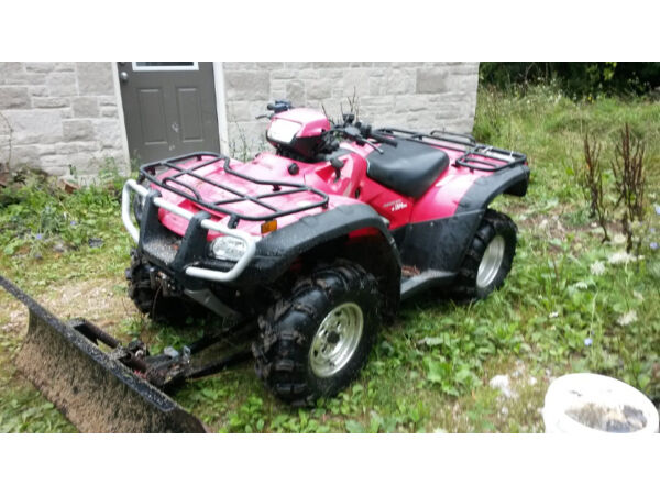 Used 2008 Honda Canadian Trail Edition ..Rubicon 500