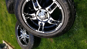 Set of 20inch truck rims