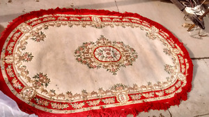 100% wool woven area rug 12×8 made in India $100