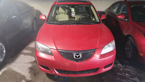 2004 Mazda Mazda3 for sale low mileage great on gas