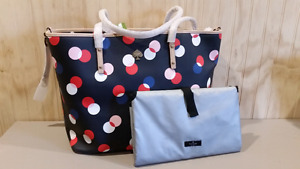 Kate Spade Harmony Baby/Diaper/Tote Bag with changing pad