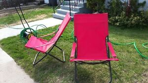2 Folding Camping Chairs FOR SALE