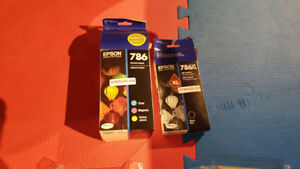 Epson 786XL Ink Cartridges (New)