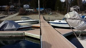 Deep Water Slips on Kootenay Lake