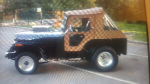 Willys Jeep Hot Rod Pro street Gasser