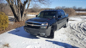 2005 Chevrolet Avalanche Z71 4x4-AS IS