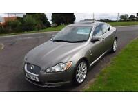 2008 JAGUAR XF 2.7 PREMIUM LUXURY V6,AUTO,CREAM LEATHER,JAGUAR SERVICE HISTORY