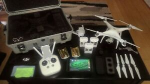 Ultimate DJI Phantom 4 Package. Includes Nvidia Sheild K1 Tablet
