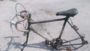Vintage bikes and frames