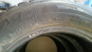 Snow tires for honda civic  great condition